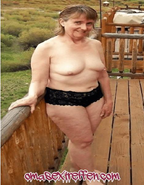 Deutsche Granny will endlich wieder ficken