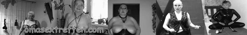 Fetisch Date mit BDSM Oma