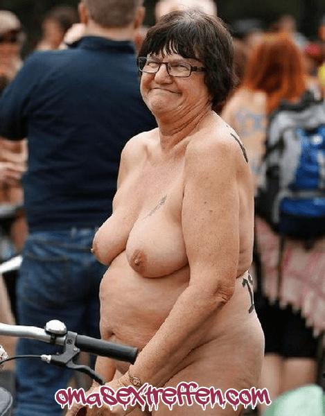 FKK Oma sucht FKK Freunde für Sextreffen